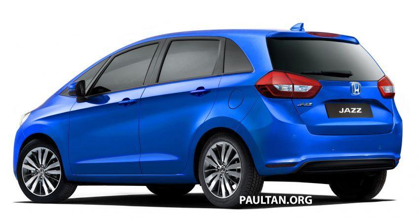 Honda Jazz 2020 – imej <em>render</em> model generasi baru Image #958280