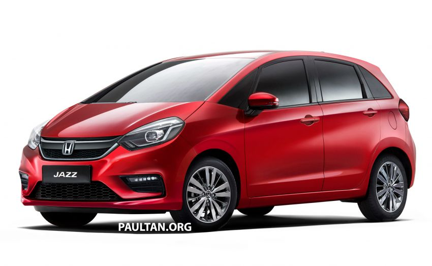 2020 Honda Jazz rendered – a softer looking 4th-gen Image #958063