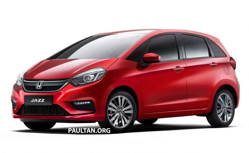 Honda Jazz 2020 – imej <em>render</em> model generasi baru Image #958277