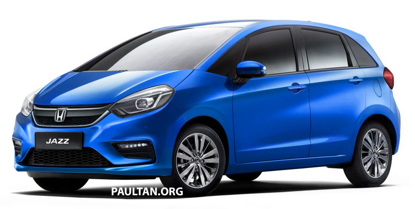 2020 Honda Jazz rendered – a softer looking 4th-gen Image #958061