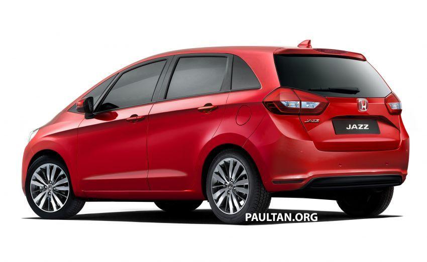 Honda Jazz 2020 – imej <em>render</em> model generasi baru Image #958279