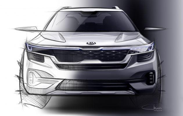 A And B Kia >> Kia Drops First Sketches Of Upcoming B Segment Suv
