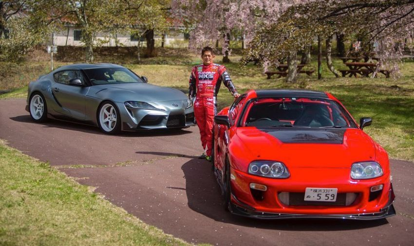 VIDEO: HKS tests exhaust, suspension for A90 Supra Image #961395