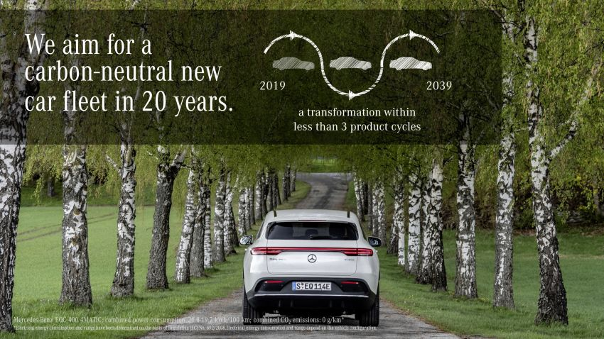 Mercedes-Benz to be carbon-neutral by 2039, chairman encourages policy-makers to adopt 'tech neutrality' Image #959715