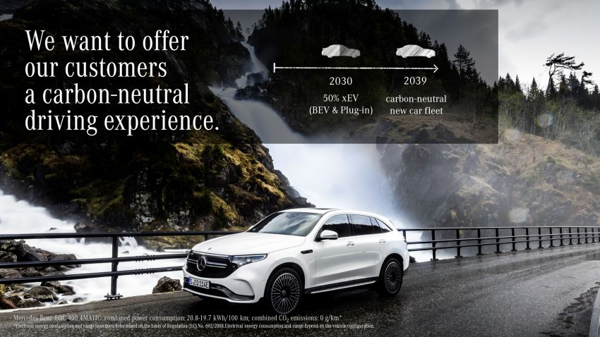 Mercedes-Benz to be carbon-neutral by 2039, chairman encourages policy-makers to adopt 'tech neutrality' Image #959717