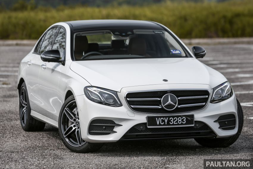 FIRST DRIVE: W213 Mercedes-Benz E350 – RM399,888 Image #956922