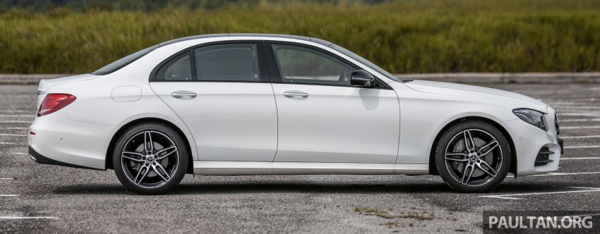 FIRST DRIVE: W213 Mercedes-Benz E350 – RM399,888 Image #956934