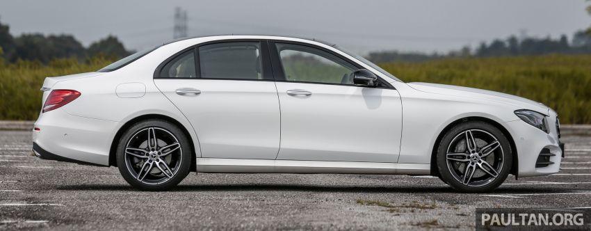 FIRST DRIVE: W213 Mercedes-Benz E350 – RM399,888 Image #956935