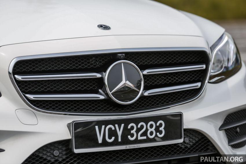 FIRST DRIVE: W213 Mercedes-Benz E350 – RM399,888 Image #956941