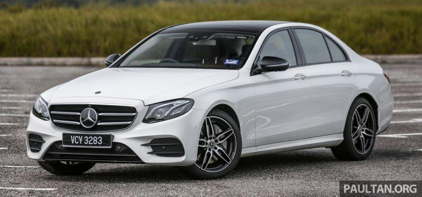 FIRST DRIVE: W213 Mercedes-Benz E350 – RM399,888 Image #956924