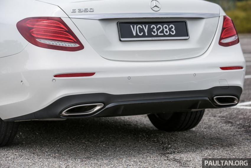 FIRST DRIVE: W213 Mercedes-Benz E350 – RM399,888 Image #956957