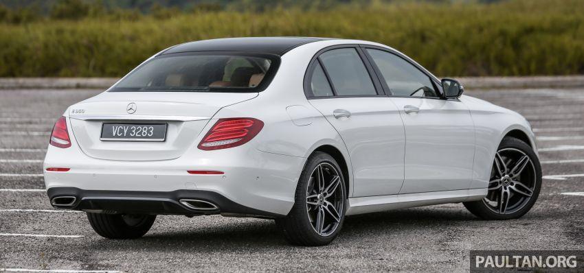 FIRST DRIVE: W213 Mercedes-Benz E350 – RM399,888 Image #956928