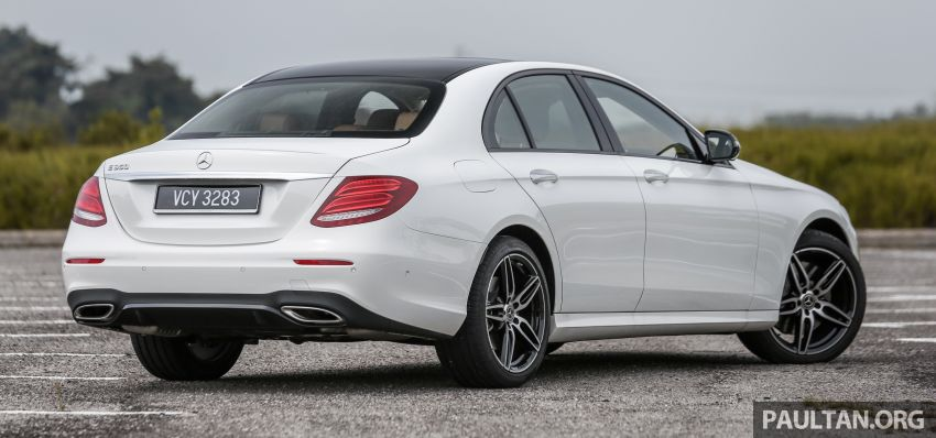 FIRST DRIVE: W213 Mercedes-Benz E350 – RM399,888 Image #956929
