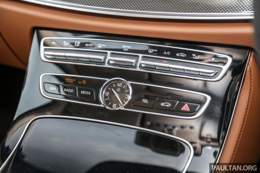 FIRST DRIVE: W213 Mercedes-Benz E350 – RM399,888 Image #956972