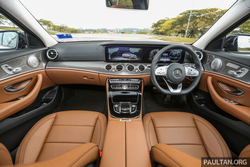 FIRST DRIVE: W213 Mercedes-Benz E350 – RM399,888 Image #956961