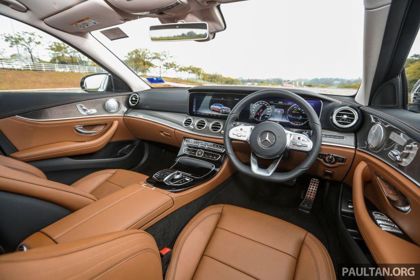 FIRST DRIVE: W213 Mercedes-Benz E350 – RM399,888 Image #956980