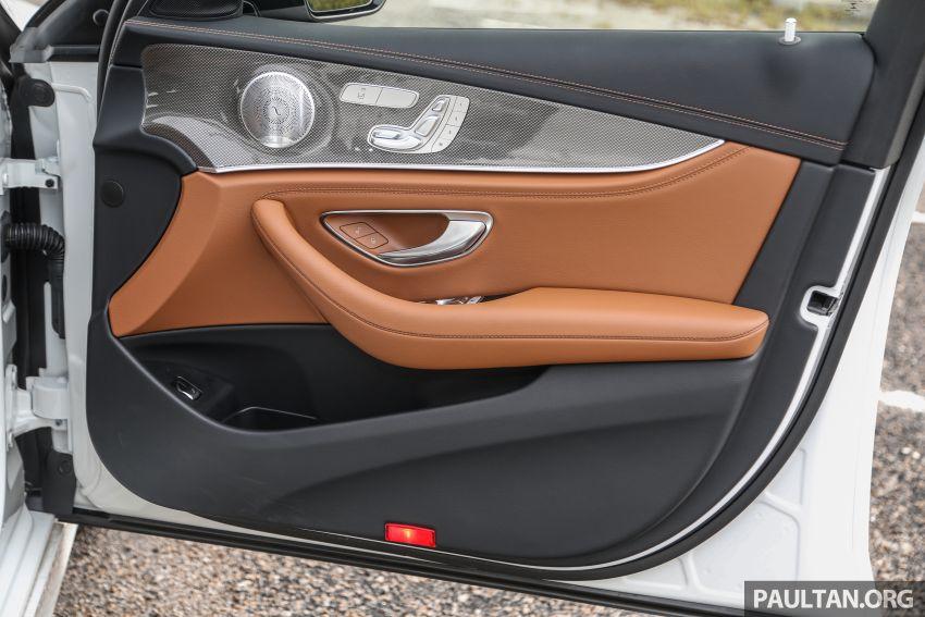 FIRST DRIVE: W213 Mercedes-Benz E350 – RM399,888 Image #956983