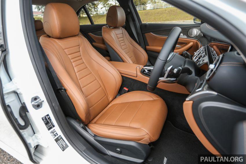 FIRST DRIVE: W213 Mercedes-Benz E350 – RM399,888 Image #956987