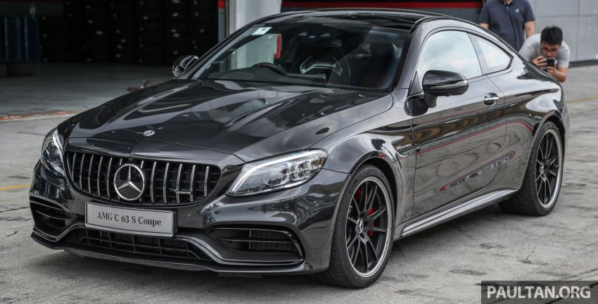 2019 Mercedes-AMG C63S Sedan and Coupe facelifts launched in Malaysia – RM768,888 and RM820,888 Image #956349