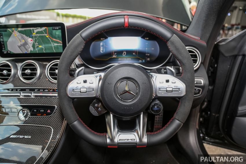 2019 Mercedes-AMG C63S Sedan and Coupe facelifts launched in Malaysia – RM768,888 and RM820,888 Image #956364