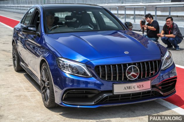 2019 Mercedes-AMG C63S Sedan and Coupe facelifts launched in