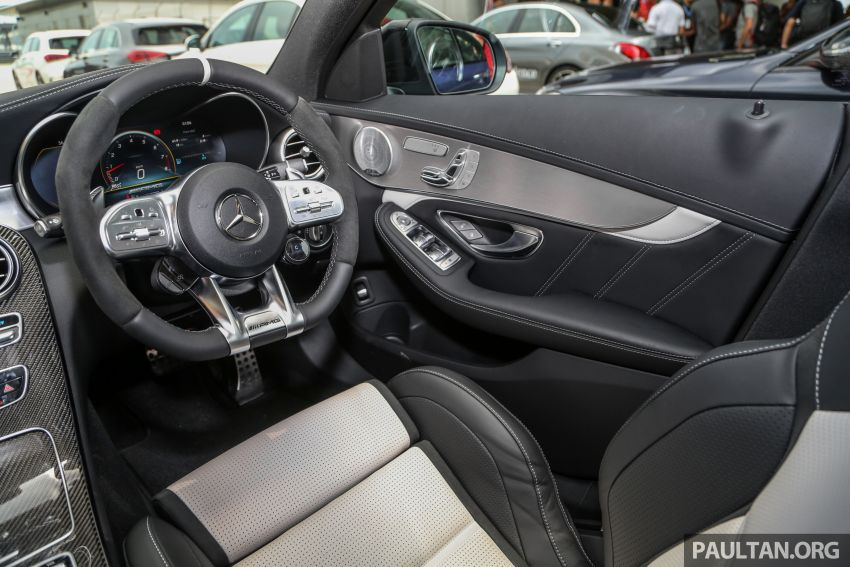 2019 Mercedes-AMG C63S Sedan and Coupe facelifts launched in Malaysia – RM768,888 and RM820,888 Image #956334