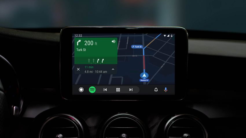 Google updates Android Auto with new look, interface Image #957406