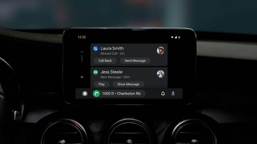 Google umum Android Auto telah dikemaskini – tampilkan antara muka dan wajah baharu Image #957510
