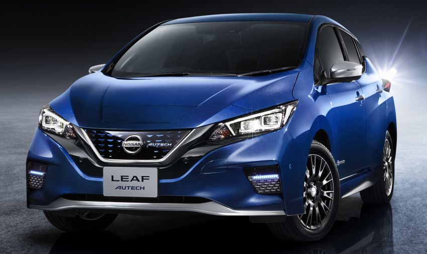 Nissan Leaf Autech debuts with styling enhancements Image #962706
