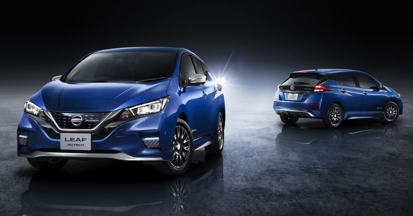 Nissan Leaf Autech debuts with styling enhancements Image #962707