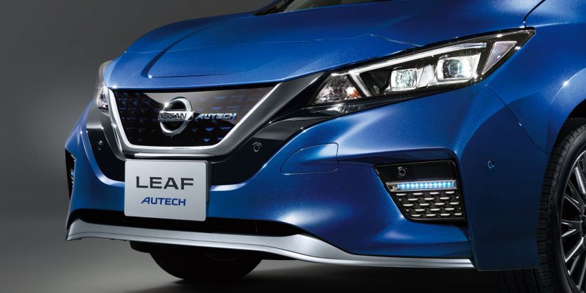 Nissan Leaf Autech debuts with styling enhancements Image #962715