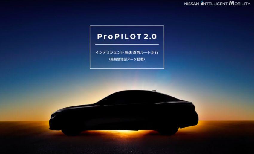 Nissan Skyline bakal terima ProPILOT 2.0 – sistem pemanduan automatik tanpa perlu memegang stereng Image #961058