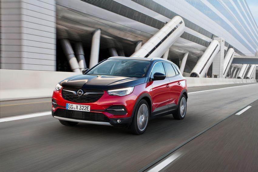 Opel/Vauxhall Grandland X Hybrid4 – brands' 1st PHEV Image #959261