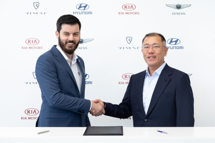 Hyundai partners Rimac, invests RM355 mil for brand new midship sports car and high-performance FCEV Image #960469