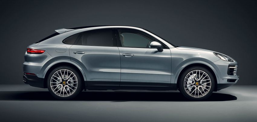 Porsche Cayenne S Coupe unveiled with 440 PS V6 Image #960204