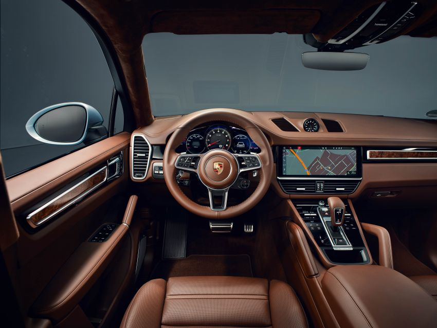 Porsche Cayenne S Coupe unveiled with 440 PS V6 Image #960205
