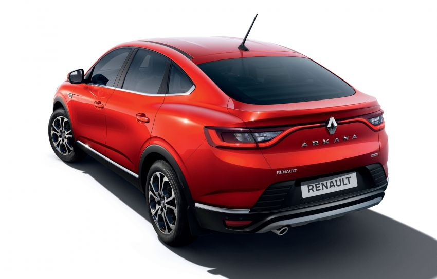 Renault Arkana – series production version unveiled Image #963482