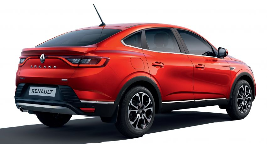 Renault Arkana – series production version unveiled Image #963483