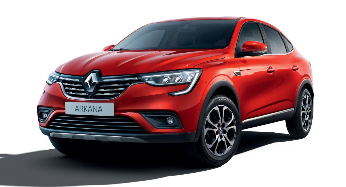 Renault Arkana Production Model Debuts As Affordable Coupe-SUV