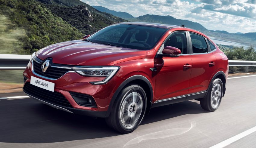Renault Arkana – series production version unveiled Image #963489
