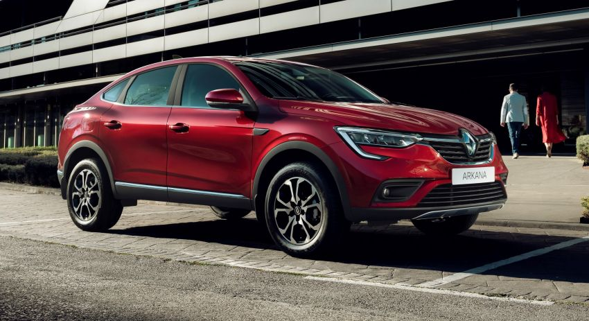 Renault Arkana – series production version unveiled Image #963490