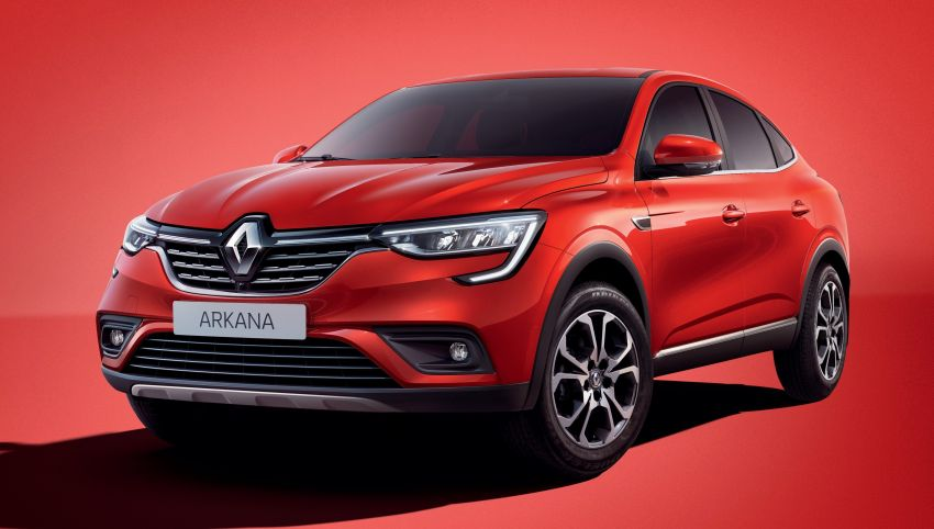 Renault Arkana – series production version unveiled Image #963494