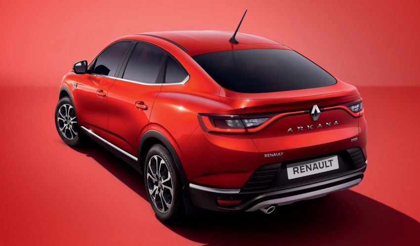Renault Arkana – series production version unveiled Image #963495