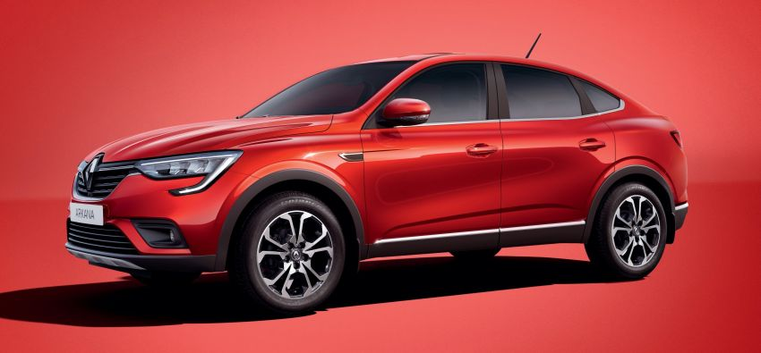 Renault Arkana – series production version unveiled Image #963496