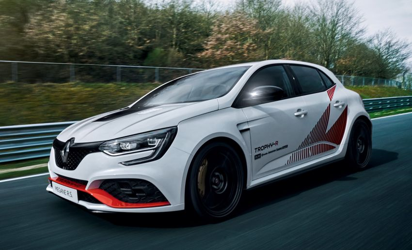 New Renault Megane RS Trophy-R now the fastest FWD at Nurburgring, beats Civic Type R with 7:40 time Image #962025