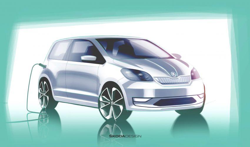 Skoda Citigo e iV debuts – brand's first production EV Image #962622