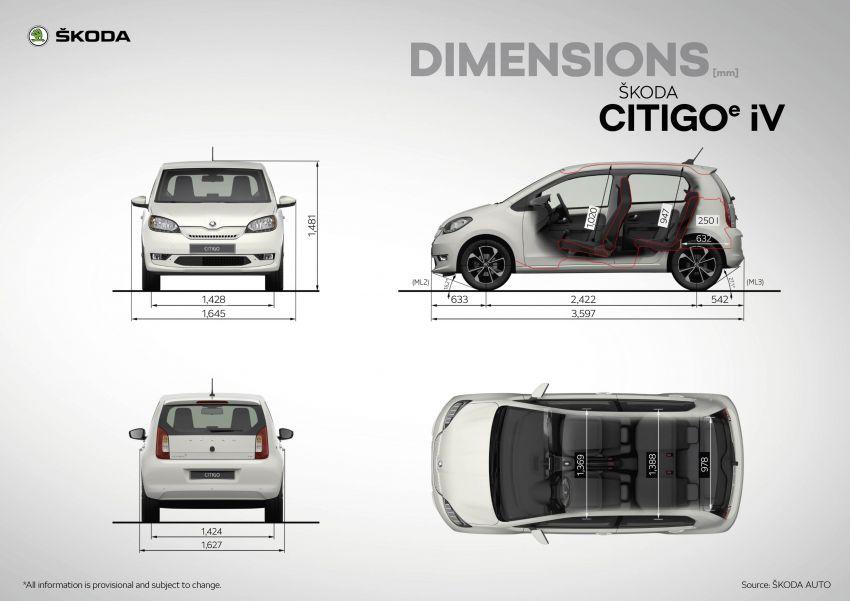 Skoda Citigo e iV debuts – brand's first production EV Image #962624