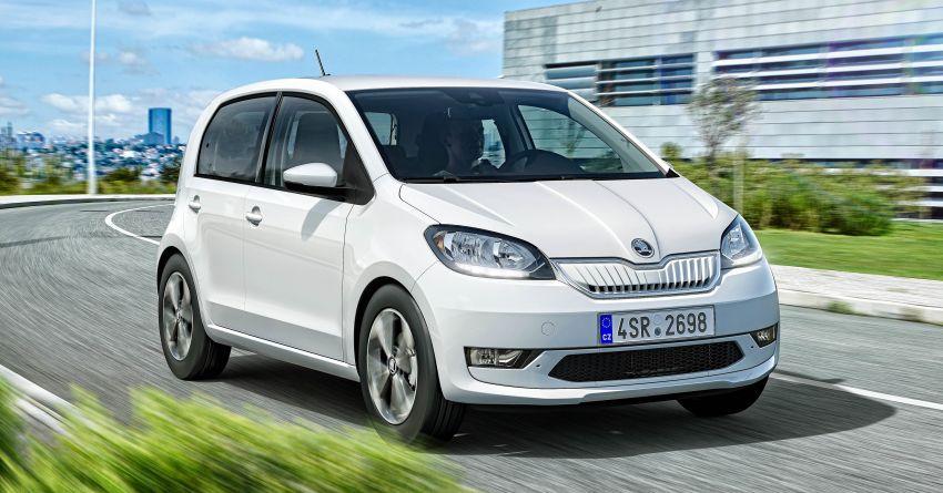 Skoda Citigo e iV debuts – brand's first production EV Image #962614