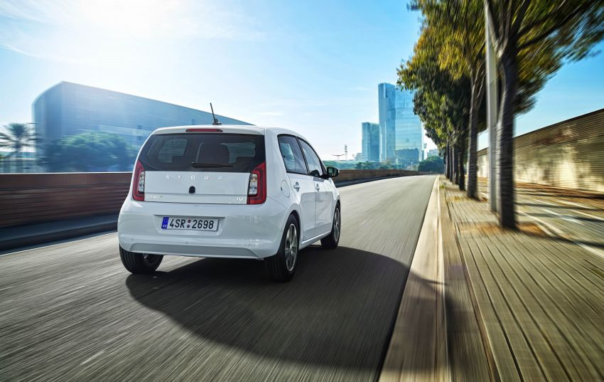 Skoda Citigo e iV debuts – brand's first production EV Image #962615