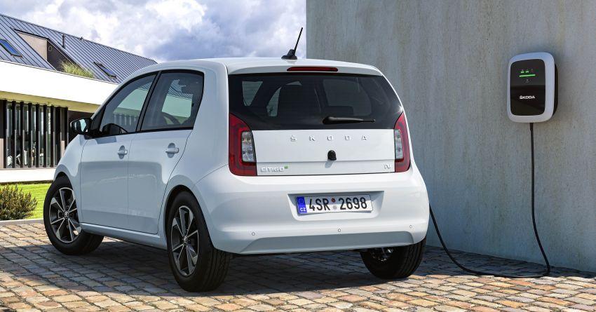 Skoda Citigo e iV debuts – brand's first production EV Image #962616